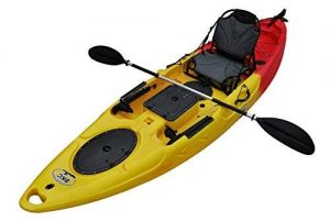 BKC RA220 11.6' Single Fishing Kayak