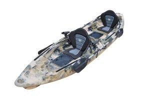 BKC TK122 12.9' Tandem Fishing Kayak