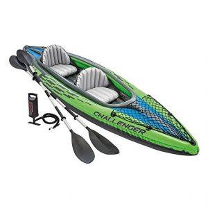 Intex Challenger K2 Kayak, 2-Person Inflatable Kayak Set