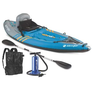 Sevylor Quikpak K1 1-Person Kayak (Renewed)