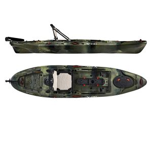 Vibe Kayaks Sea Ghost 110 11 Foot Angler Sit On Top Fishing Kayak